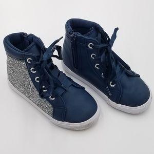 Disney Frozen Let It Go High Top Sneakers Shoes 8T